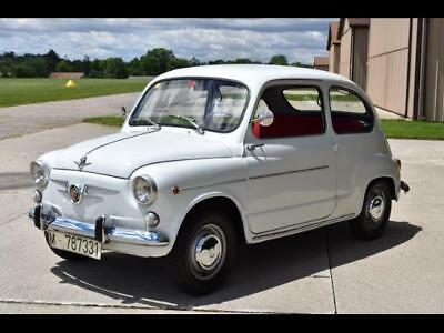 1969 Fiat Other 600D FREE SHIPPING! 1969 Fiat SEAT 600D VERY GOOD CONDITION FRESH IMPORT!