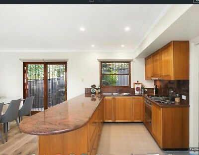 Timber Kitchen With Granite Benchtop