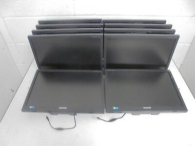 "10 X Samsung SyncMaster SA200 19"" Widescreen Monitor *WITHOUT STANDS* S19A200NW"