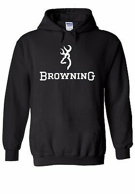 Browning Shotgun Firearm Hunting Men Women Unisex Top Hoodie Sweatshirt 1764