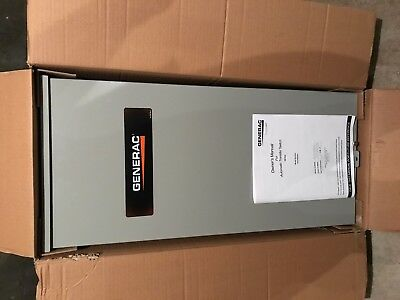 Automatic TRANSFER SWITCH, GENERAC POWER SYSTEMS,100 AMP, RTG16EZA3