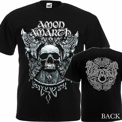 AMON AMARATH Without Fear -NEW T-SHIRT MEN'S-DTG PRINTED TEE SIZE-S/ 7XL