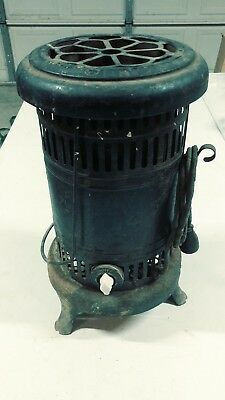 Antique Utica Electric Portable Furnace - Ornate Rare USA Made - Porcelain Knob