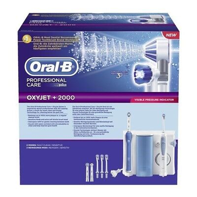Braun Oral-B Professional Care Center 2000 OXYJET+ - Dentalcenter