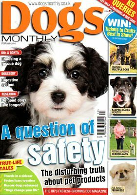 Dogs Monthly Magazine February 2014 PEKINGESE KEEPING OLD DOGS HEALTHY