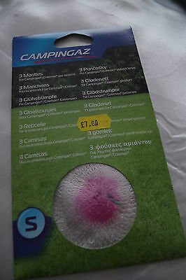 Camping Gaz mantles pack of 3, Size Small