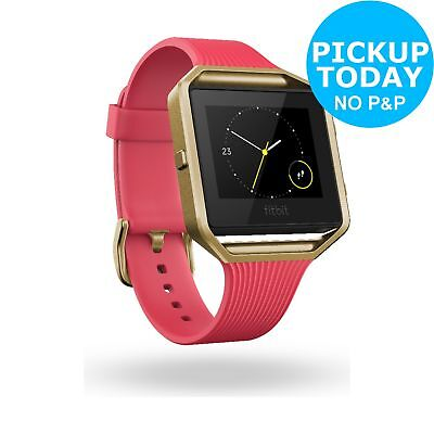 Fitbit Blaze Fitness Band Special Edition Pink Gold - Small. From Argos on ebay