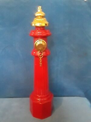 Lionstone Fire Hydrant #12 In Series Decanter Union Made in USA Never Used