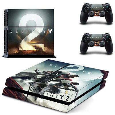 Destiny 2 PS4 Vinyl Skin Sticker Decal for Console & 2 Controllers Brand NEW