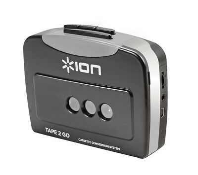ION Tape 2 Go Digital Conversion Cassette Player