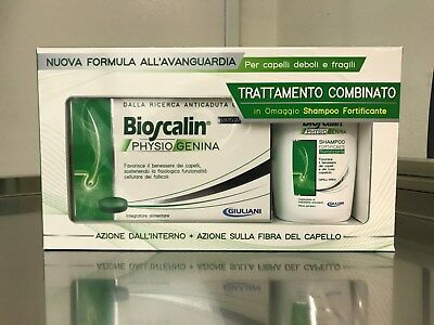 Bioscalin PHYSIOGENINA 30 compresse anticaduta + shampoo 100 ml omaggio