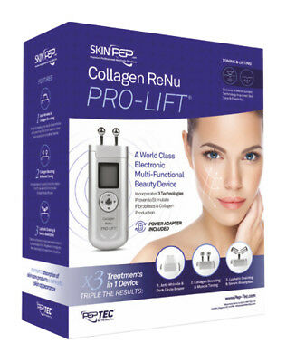 SkinPep Collagen ReNu Pro Lift - Galvanic Facial Machine FACTORY SEALED SALE !!