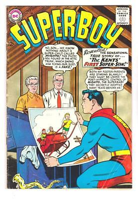 SUPERBOY 108 (FN/VF) THE KENTS 1st SUPER-SON, CURT SWAN ART (FREE SHIPPING)  *