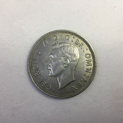 1937 Great Britain Crown Silver coin King George VI British Imperial Crown