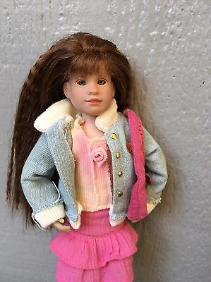 EUC RETIRED Premier Edition Olivia Hope Only Hearts Club Doll  And Purse
