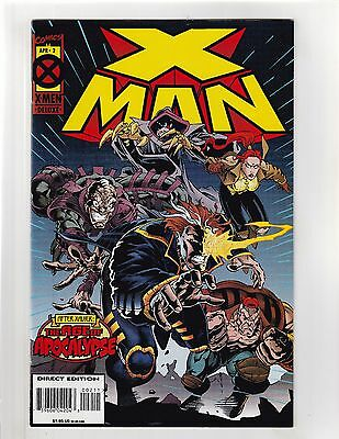 X-Man (1995) #2 VF/NM 9.0 Marvel Comics Age of Apocalypse