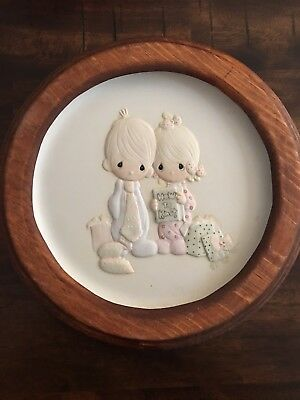 Precious Moments Our First Christmas Together Plate