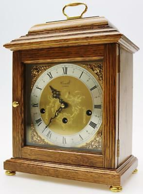 Comitti Musical Bracket Clock Vintage Westminster chime Caddy Top Mantel Clock