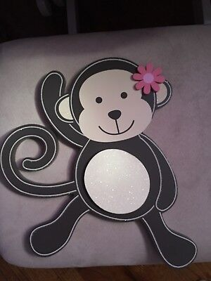 baby monkey decor from babies r us