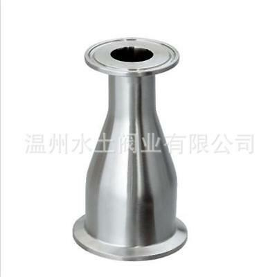 """63MM to51MM 2.5 """"to 2"""" Sanitary Ferrule Reducer Fitting SS316 to Tri Clamp NEW"""