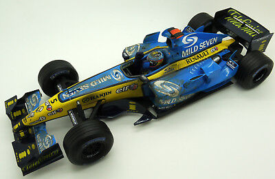Rare Hot Wheels Mild Seven Renault R25 F.alonso 2005 World Champion Edt 1/18