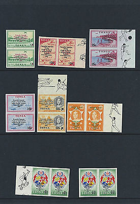Tonga Stamps 1968 Prep for South Pacific Games - Post, Air & Official MNH 2 sets