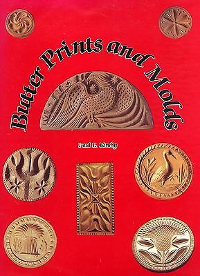 Primitive Butter Prints and Molds - Types Patterns / In-Depth Illustrated Book
