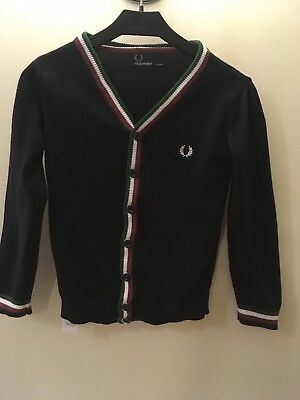 Fred Perry Cardigan Age 4-5 Years