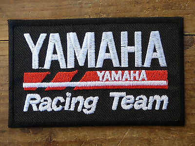 A085 ECUSSON PATCH THERMOCOLLANT aufnaher toppa YAMAHA racing team moto gp