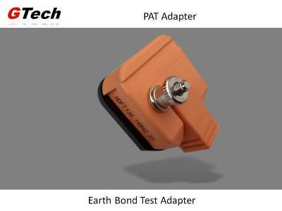 Earth Bond Plug - For Extension PAT Testing with Testers WITHOUT an IEC Socket.