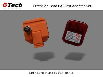 Earth Bond Plug + Socket Tester - Extension PAT Testing WITHOUT an IEC Socket
