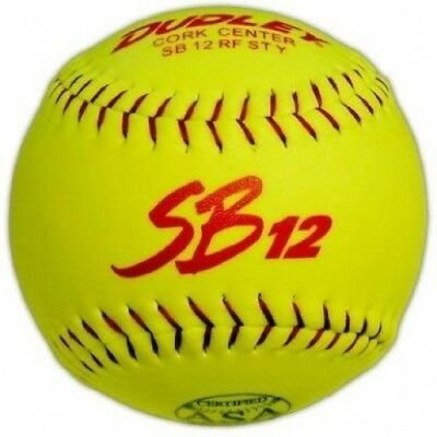 Dudley ASA SB 12T Slow Pitch Softball - Dozen. Shipping Included