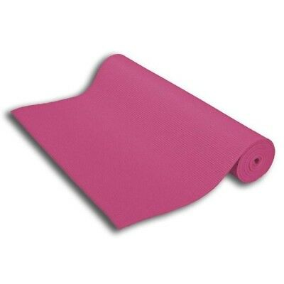 Sivan Health and Fitness Yoga and Pilates Mat (Pink). Free Shipping