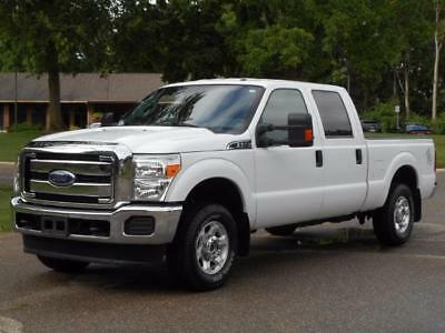 2016 Ford F-250 XLT 4X4 SHORT BOX CREW 2016 F250 XLT CREW 4X4 ALLOYS SUPER CLEAN SHORT BOX 6.2 GAS