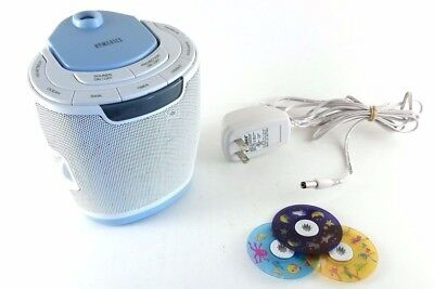 Homedics SoundSpa Infant Lullaby Sound Machine and Projector SS-3000 3 Discs
