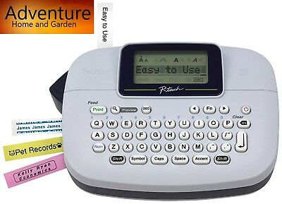 Brother Ptm95 Wireless Handy Label Maker Labeler Office Product Free Shipping