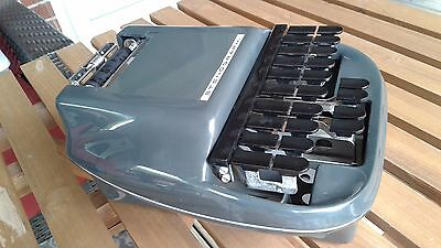 Stenograph Shorthand machine 1983 With (how to) cassette tapes lot with case