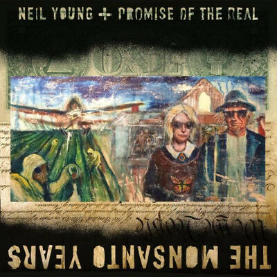 neill young and promise of the real the monsanto years cd