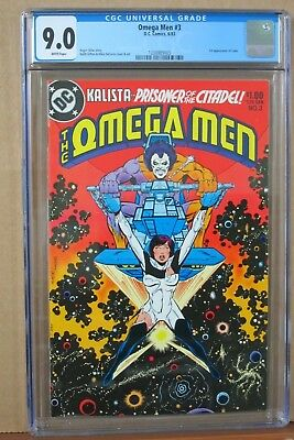 The Omega Men #3 CGC 9.0 first Appearance of LOBO, Griffen & DeCarlo Cover & Art