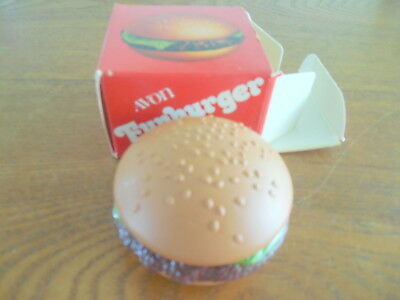 Vintage Avon Funburger Lip Gloss Compact with Contents and Box