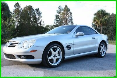 2003 Mercedes-Benz SL-Class SL55 AMG® PANORAMIC ROOF IMMACULATE FLORIDA NO RES 2003 MERCEDES BENZ SL55 AMG SUPERCHARGED PANORAMIC IMMACULATE FL NO RESERVE!