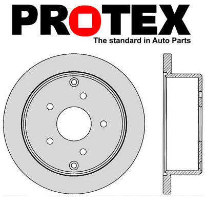 Protex Rear Disc Brake Rotor DR041 - Holden Commodore VT VY VX VZ VU WH WK WL