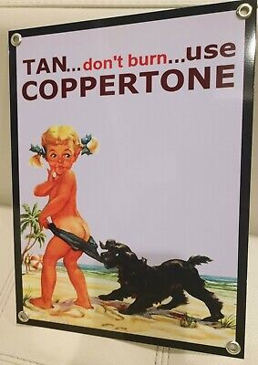 Coppertone iconic advertising sign