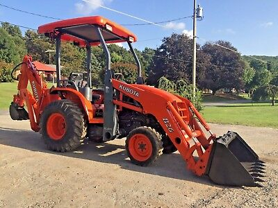 Kubota B26 Diesel Tractor  Loader Wity 3 Point Hitch Backhoe And 540 Pto