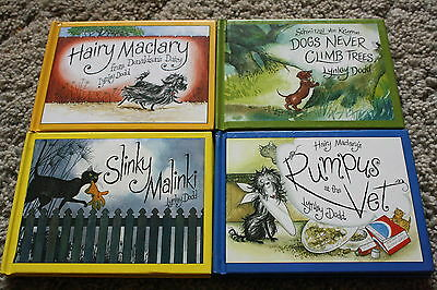 Small Hairy Mcclary Books (X4)