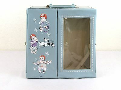 Tiny Thumbelina Ideal Blue *Case Only* - Very Good Condition 1960's Vintage