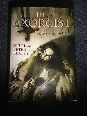The Exorcist 40th Anniversary Limited Edition Book Signed William Peter Blatty