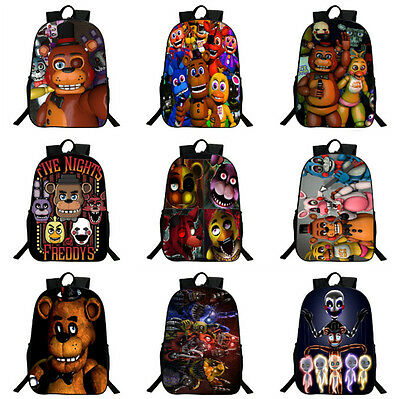 Five Nights At Freddys Backpack FNAF Children School Bags Boys Kindergarten Bag