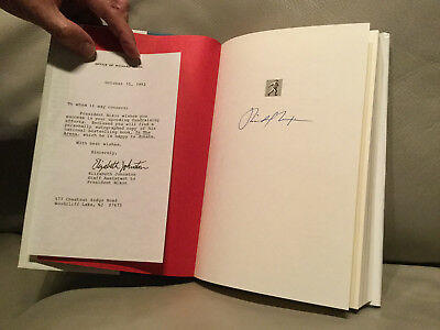 Signed Book- Richard Nixon   In the Arena  Authenticated by Letter From Aide