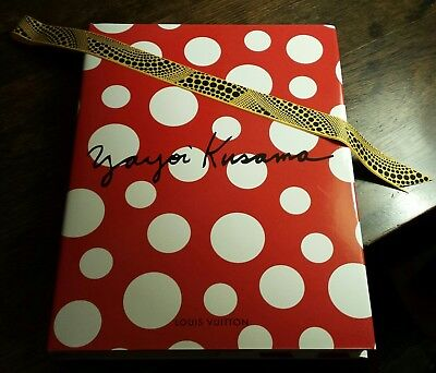 AUTHENTIC YAYOI KUSAMA LOUIS VUITTON 2012 LTD Edition Book, RARE, EX COND!